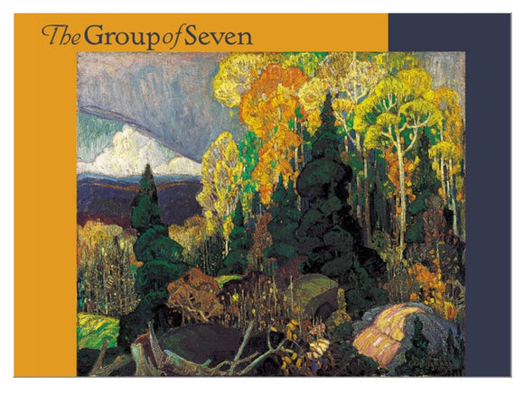 The Group of Seven boxed notecards