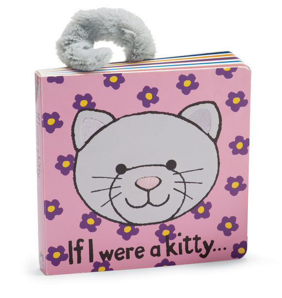 JellyCat Plushies - If I Were A Kitty (Book)