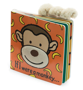 JellyCat Plushies - If I Were A Monkey (Book)