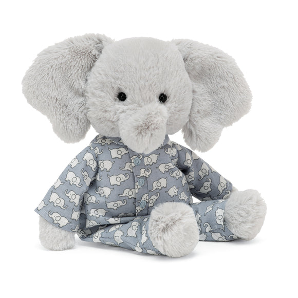 JellyCat Plushies - Bedtime Elephant (Small)