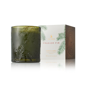 Frasier Fir Poured Candle - Molded Green (6.5oz)