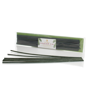 Green Unscented Reed Refill