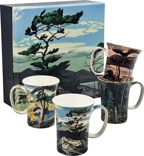Group of Seven Mug Set (Set of 4)