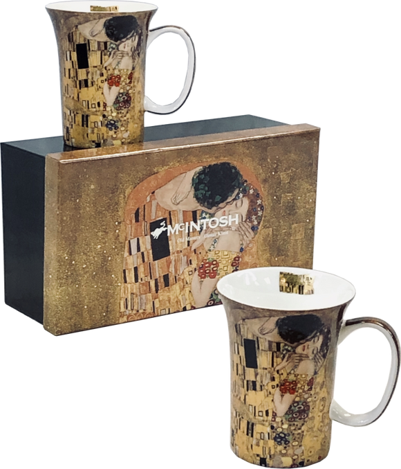Gustav Klimt - The Kiss Mug Set (Set of 2)