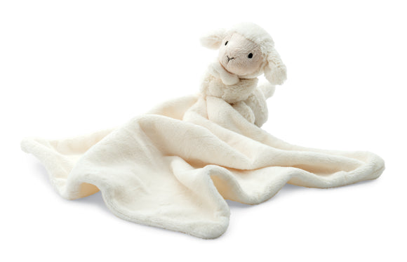 JellyCat Plushies - Bashful Lamb Soother