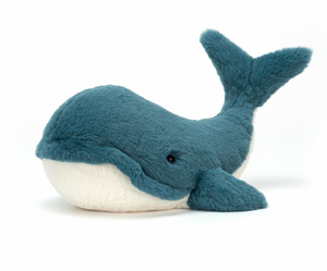 JellyCat Plushies - Wally Whale (Small)