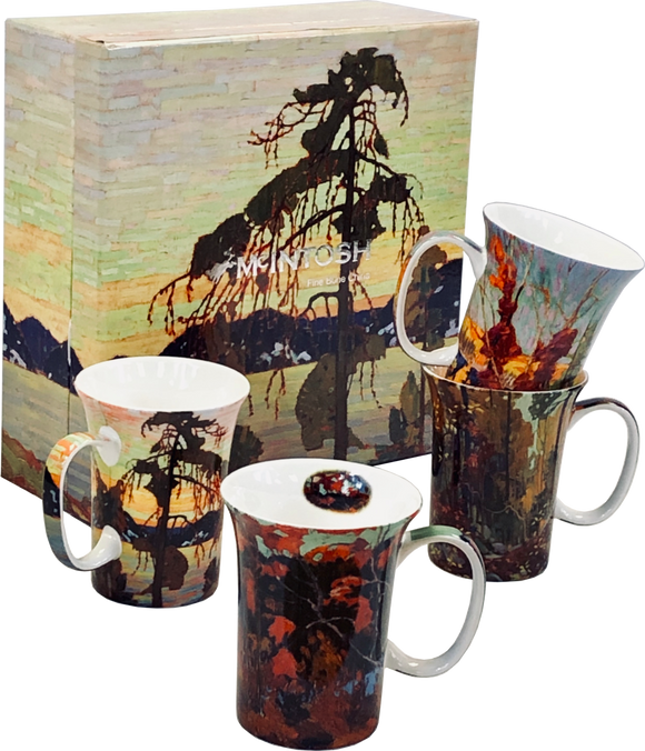 Tom Thomson Mug Set (Set of 4)