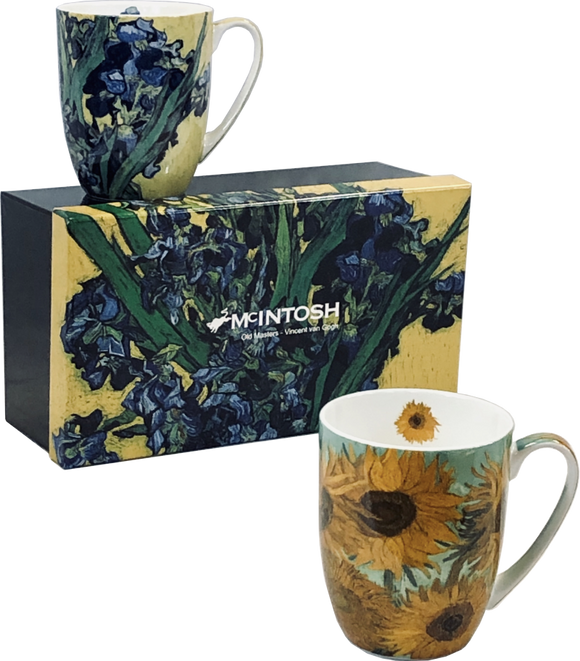 Van Gogh - Flowers Mug Set (Set of 2)