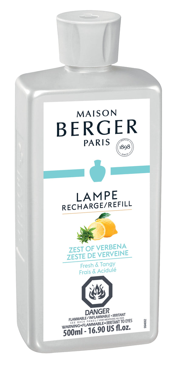 Maison Berger Fragrance Refill 500mL - Zest Of Verbena