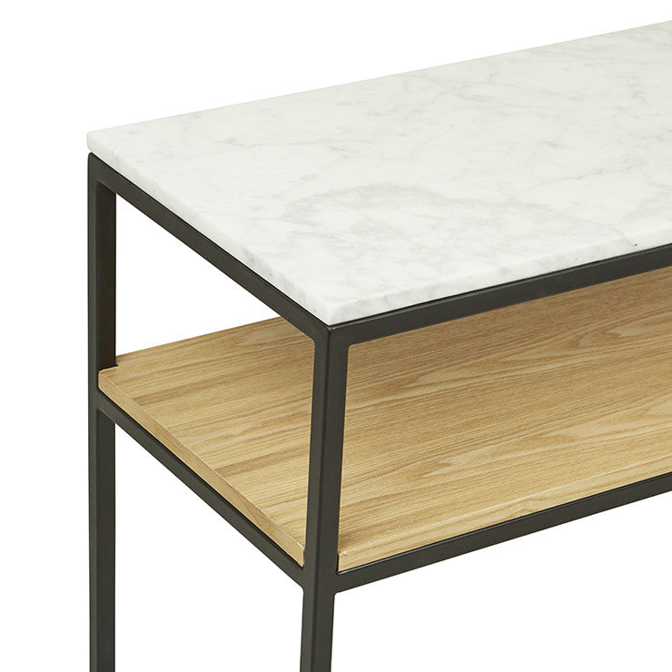 Load image into Gallery viewer, Baxter Marble Cube Console