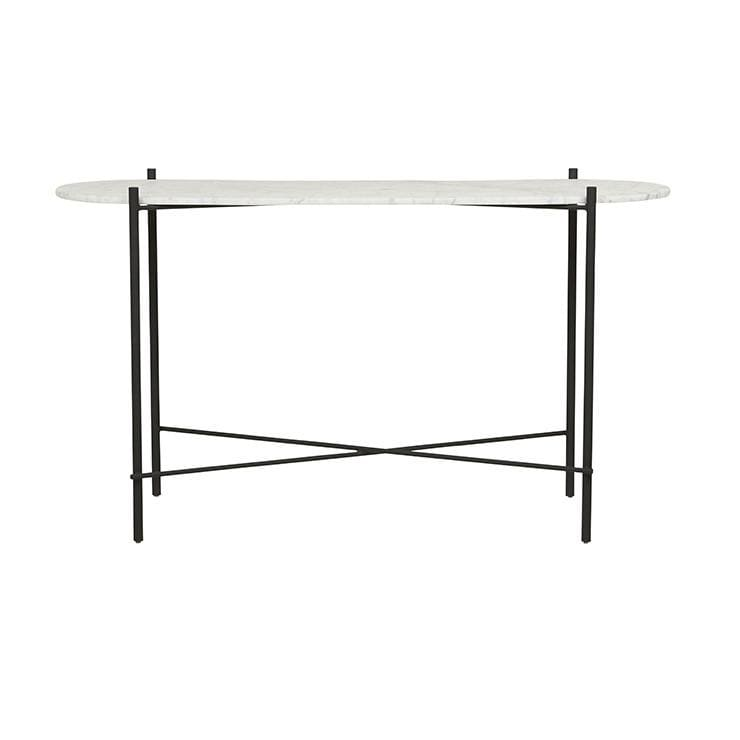Elle Pipe Oval Console - Sofas Direct