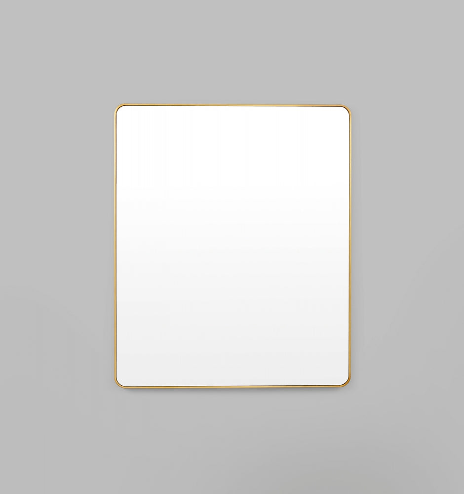 Flynn Curve Rectangle Mirror