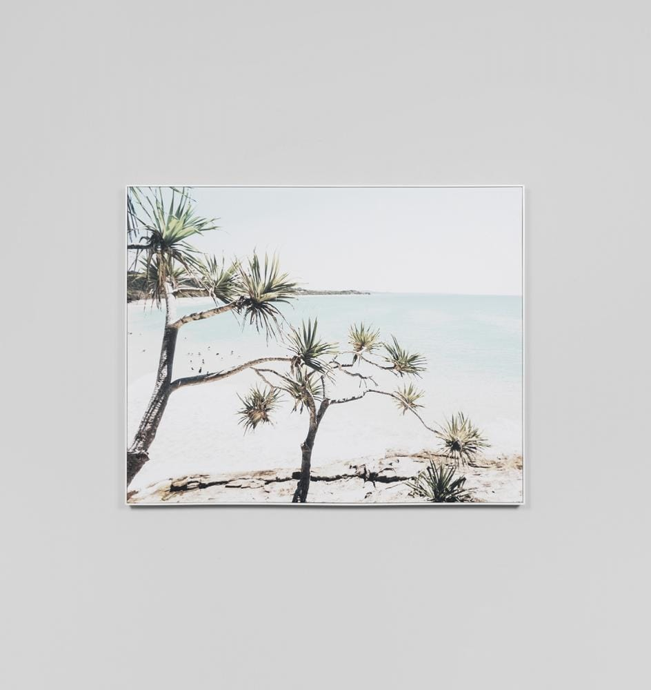 Northern Beach Framed Canvas