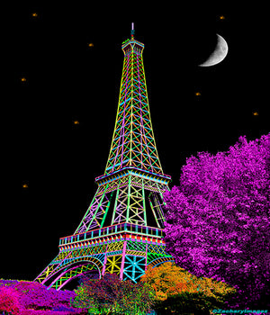 Eiffel Tower Cityscape