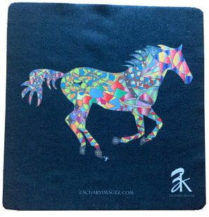 Horse Gallop Microfiber Cloth