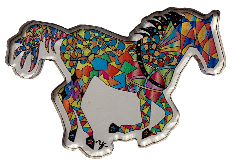 Horse Gallop Magnet