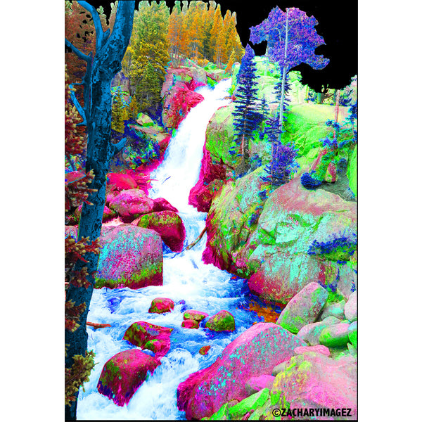 Rocky Mountain Waterfall Card Pack