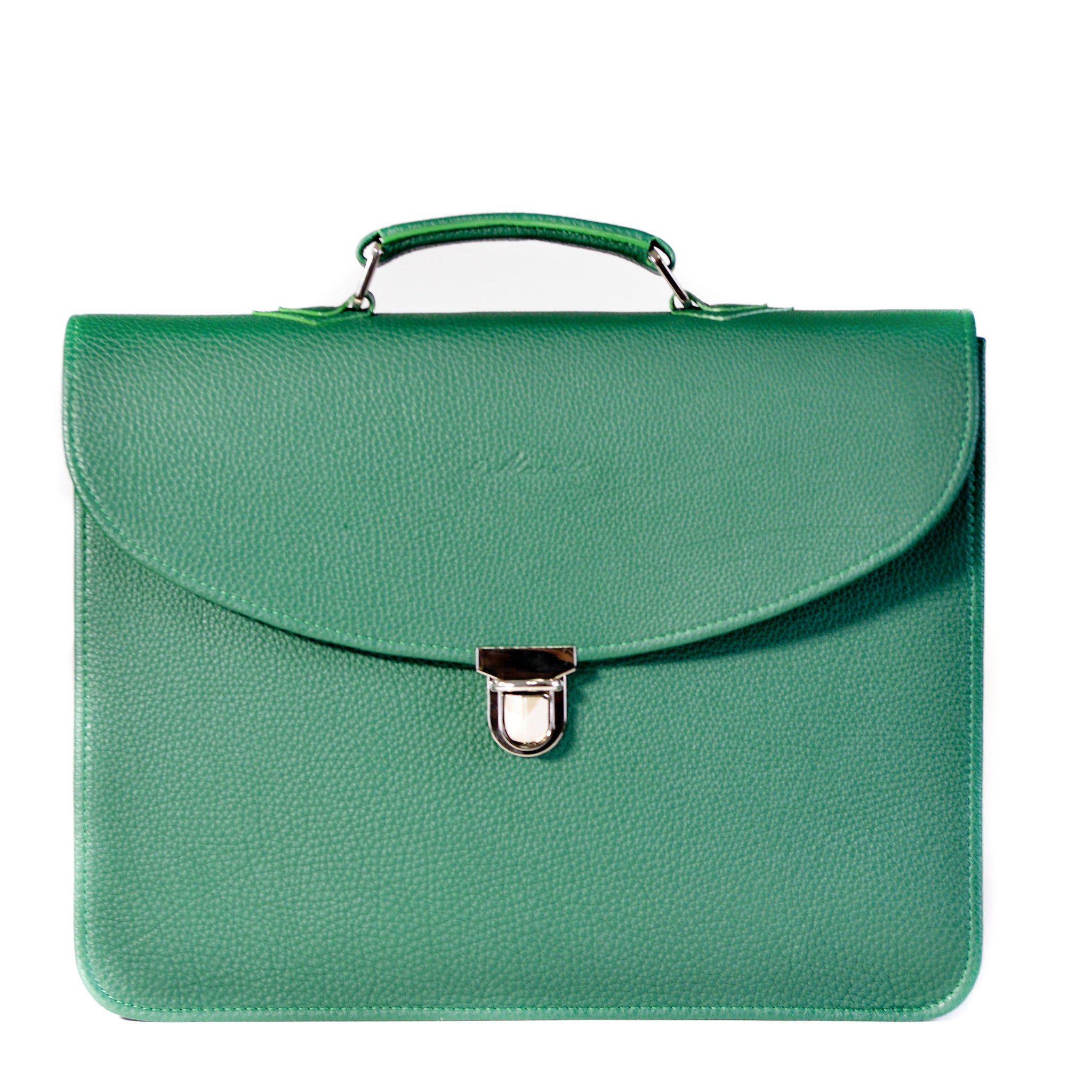 Large Business Briefcase-Green
