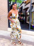FLORAL JUMPSUIT - Lovely Push Boutique