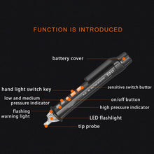 Load image into Gallery viewer, (Last day promotion)AC/DC Voltage Test Pencil--12V/48V-1000V Voltage Sensitivity Electric Compact Pen