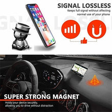 Load image into Gallery viewer, Hasakey Design Crazy Hat Doll Alloy Phone Holder