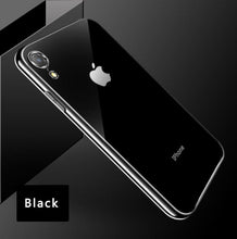 Load image into Gallery viewer, Luxury Electroplated Bumper Glossy Cover with LOGO for iPhone