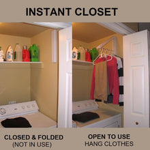 Load image into Gallery viewer, Folding Retractable Clothes Rack