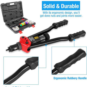 【Last Day Promotion】Premium Easy Automatic Rivet Tool Set