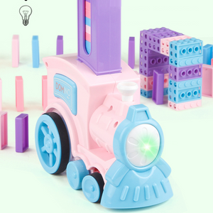 Automatic Domino Laying Train Toy