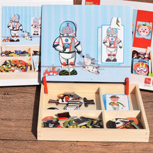Load image into Gallery viewer, Dress Up & Learn - 3D Magnetic Puzzle Set