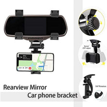 Load image into Gallery viewer, Car Rearview Mirror Phone Holder