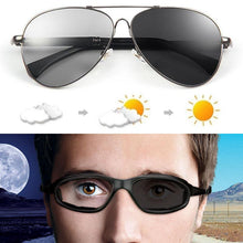 Load image into Gallery viewer, Smart Photochromic Unbreakable Flexible& Ultralight Japanese Titanium Sunglasses