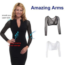 Load image into Gallery viewer, Slip-on Mesh Sleeves Seamless Arm Shaper