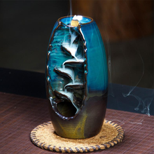 Load image into Gallery viewer, Aromatherapy Waterfall Incense Burner for Gift, Home and Office