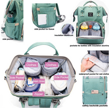 Load image into Gallery viewer, Moses ™ 2020🔥2 -In-1 Multifunktionale Reisemama-Tasche & Kinderbett
