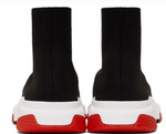 Charger l'image dans la galerie, Balenciaga Speed trainer Black White RED