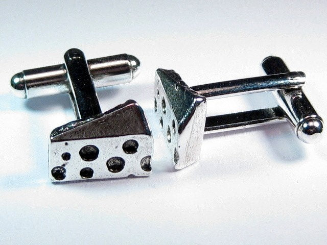 Cheese Cufflinks