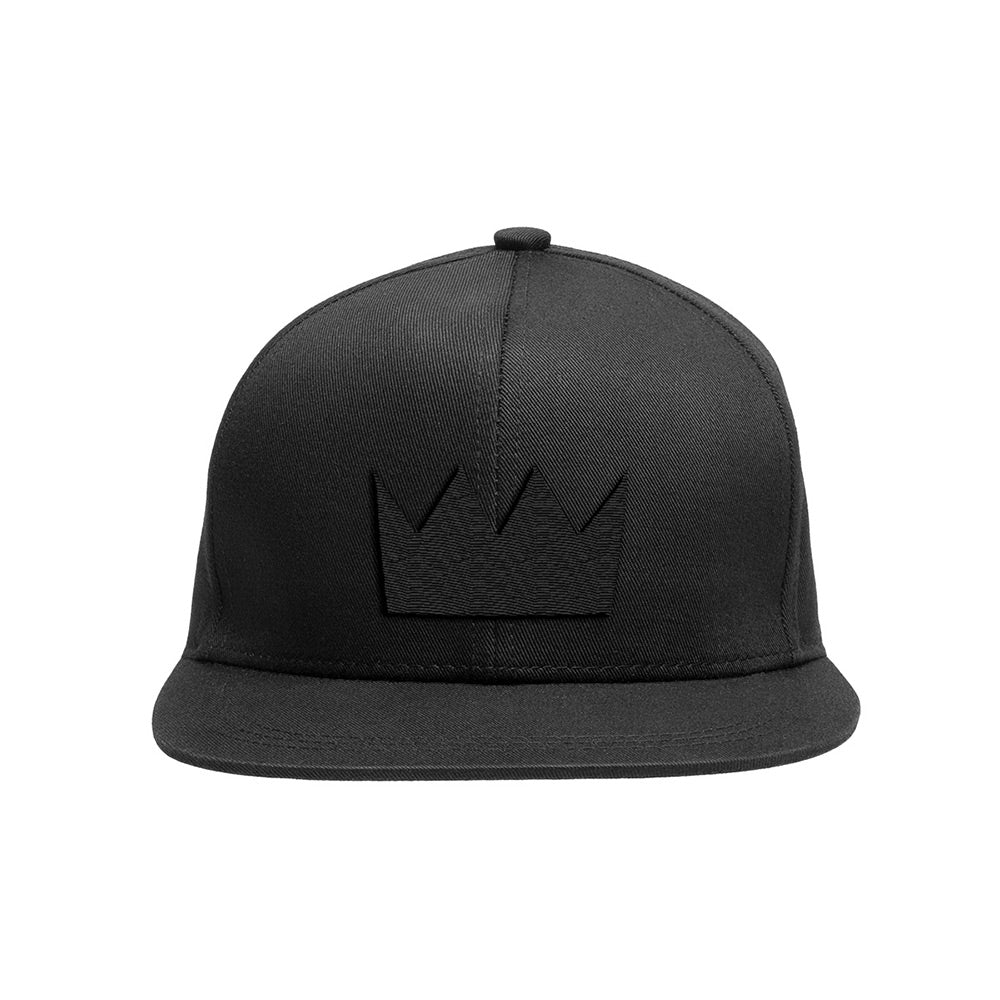 Ounce Water Logo Black Crown Hat