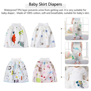 Baby Diaper Waterproof Skirt - 200001341 - Dandy Owl