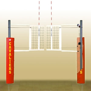 MATCH POINT™ ALUM COMPLETE SYSTEM W/FLOOR SOCKETS-BISON INC-Home Team Sports & Apparel