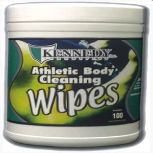 ATHLETIC BODY CLEANING WIPES-KENNEDY INDUSTRIES-Home Team Sports & Apparel