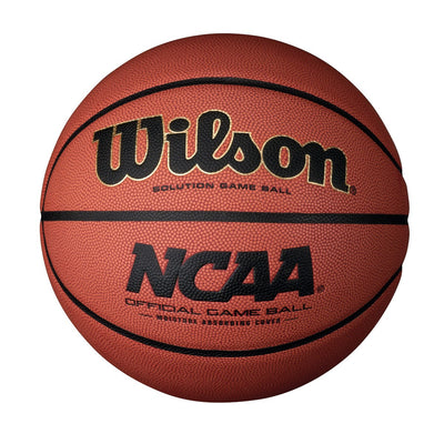 WILSON NCAA OFFICIAL GAME BASKETBALL (WOMENS)-WILSON SPORTING GOODS-Home Team Sports & Apparel