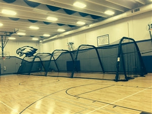 PORTABLE INDOOR/OUTDOOR BATTING CAGE (EXTRA FEET)-BATCO CAGES-Home Team Sports & Apparel