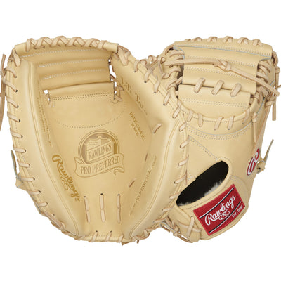 "RAWLINGS PLAYERS PRO CATCHERS BASEBALL MITT (34"")-RAWLINGS SPORTING GOODS-Home Team Sports & Apparel"