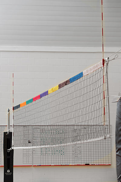 VOLLEYBALL NET ZONE SYSTEM-TANDEM SPORT-Home Team Sports & Apparel