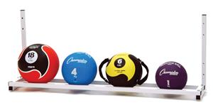 MEDICINE BALL WALL RACK-CHAMPION SPORTS-Home Team Sports & Apparel
