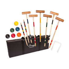 TOURNAMENT CROQUET SET-CHAMPION SPORTS-Home Team Sports & Apparel