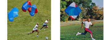 PARACHUTES (POWER / LARGE 8')-ATHLETIC SPEED EQUIPMENT-Home Team Sports & Apparel