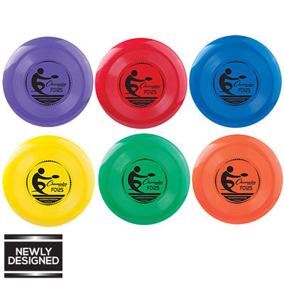CHAMPION COMPETITION PLASTIC DISCS (125 GRAM)-CHAMPION SPORTS-Home Team Sports & Apparel