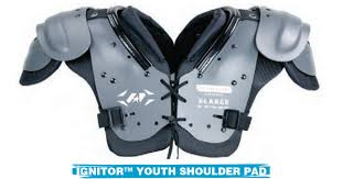 IGNITOR YOUTH LEAGUE SHOULDER PAD (40-55#)-ALL STAR SPORTING GOODS-Home Team Sports & Apparel